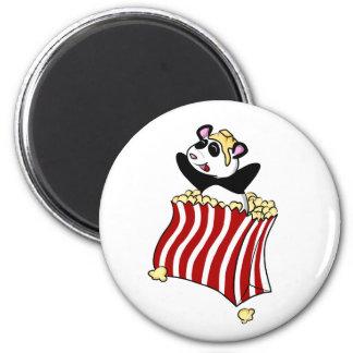 Popcorn Panda! Magnet