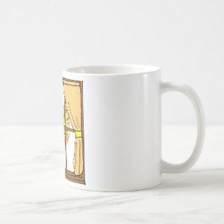 Popcorn Popping on the Apricot Tree Basic White Mug