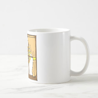 Popcorn Popping on the Apricot Tree Coffee Mug