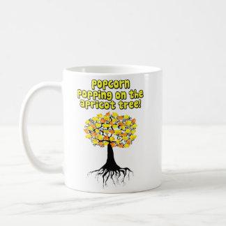 Popcorn Popping On The Apricot Tree Coffee Mugs