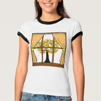 Popcorn Popping on the Apricot Tree Tee Shirts
