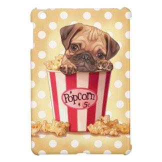 Popcorn pug iPad mini covers