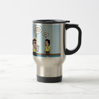Popcorn Sales - The Cuteness Factor Stainless Steel Travel Mug