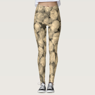 Popcorn Sepia - Leggings
