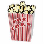 Popcorn Standing Photo Sculpture