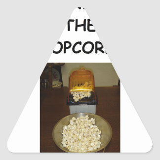 POPCORN TRIANGLE STICKER