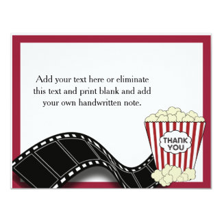 Popcorn Thank You Card