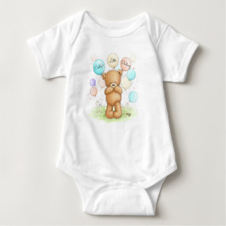 Popcorn the Bear - Daddy's Little Darling Bodysuit