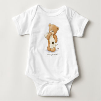 Popcorn the Bear Jersey Bodysuit