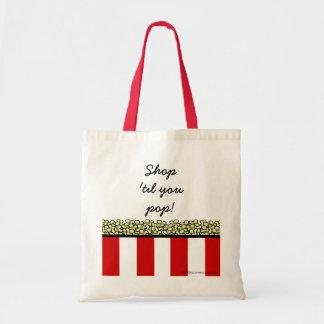 Popcorn Budget Tote Bag