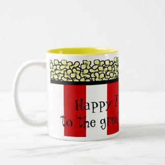 Popcorn Two-Tone Coffee Mug