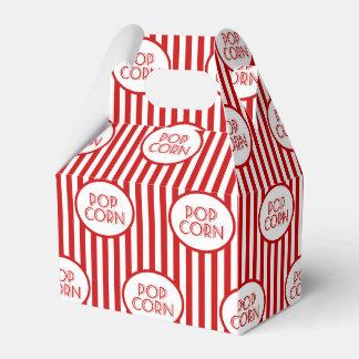Popcorn word art party fun favor box