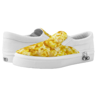 Popcorn Zipz Slip On Shoes for Men and Women Printed Shoes