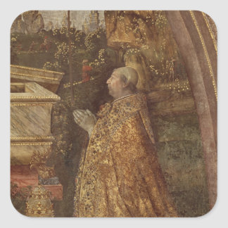 Pope Alexander VI, 1492 Square Sticker