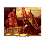 Pope Alexander Vi By Titian Postcard