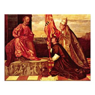 Pope Alexander Vi Empfielt Jacopo Pesaro To St Pe Invitation