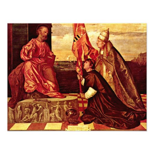 Pope Alexander Vi.Empfielt Jacopo Pesaro To St. Pe Announcements