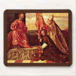Pope Alexander Vi.Empfielt Jacopo Pesaro To St. Pe Mouse Pad