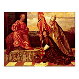 Pope Alexander Vi Empfielt Jacopo Pesaro To St Pe Post Cards