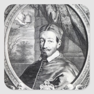 Pope Alexander VII Square Sticker