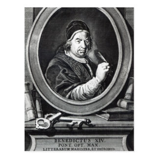 Pope Benedict XIV Postcard