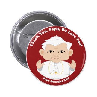 Pope Benedict XVI 6 Cm Round Badge