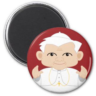Pope Benedict XVI 6 Cm Round Magnet
