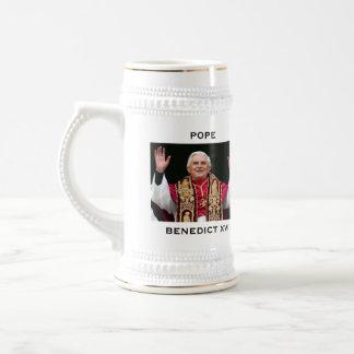 POPE BENEDICT XVI BEER STEIN