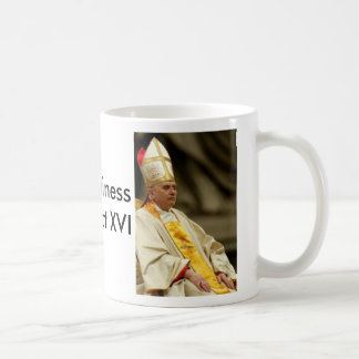 Pope Benedict XVI, Pope Benedict XVI, His Holin... Coffee Mug