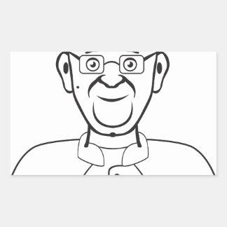 Pope cartoon sticker