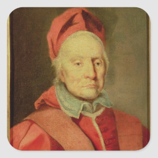 Pope Clement XI Square Sticker