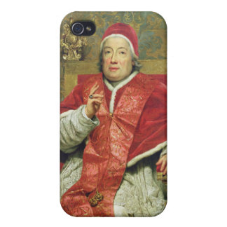 Pope Clement XIII (1693-1769) (oil on canvas) iPhone 4/4S Cover