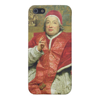 Pope Clement XIII (1693-1769) (oil on canvas) iPhone 5 Covers
