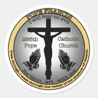 Pope Francis Round Sticker