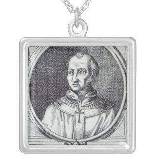 Pope Hadrian II Silver Plated Necklace