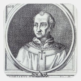 Pope Hadrian II Square Sticker