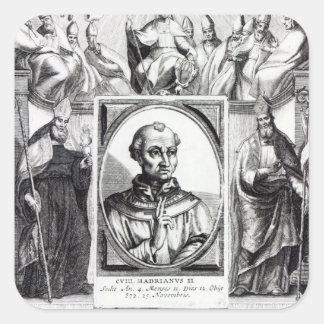 Pope Hadrian II Sticker