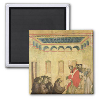 Pope Innocent III Square Magnet
