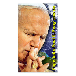Pope John Paul II Beatification Card Double-Sided Standard Business Cards (Pack Of 100)