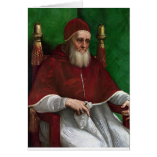 Pope Julius II by Raphael Greeting Card