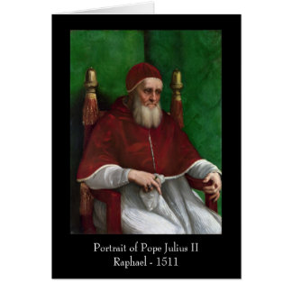 Pope Julius II by Raphael Greeting Cards