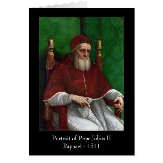 Pope Julius II by Raphael Greeting Greeting Card