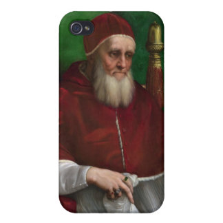 Pope Julius II by Raphael iPhone Case iPhone 4/4S Cases