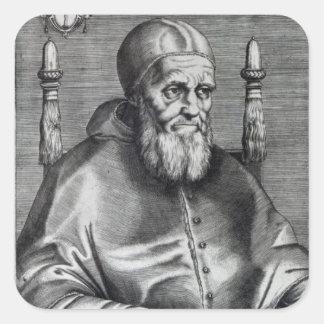 Pope Julius II Square Sticker