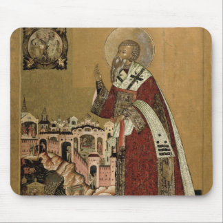 Pope Klemens with scenes from his life Mouse Pad
