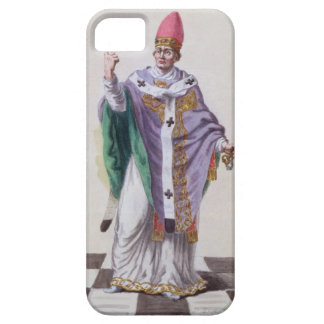 Pope Leo III (795-816) from 'Receuil des Estampes, iPhone 5 Covers
