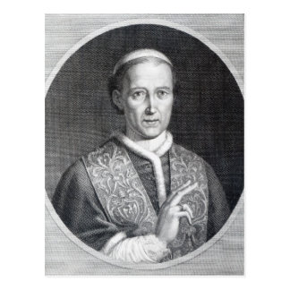 Pope Leo XII, engraved by Raffaele Persichini Postcard