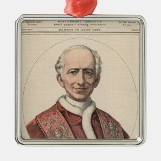 Pope Leo XIII Christmas Ornament
