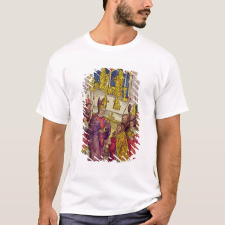 Pope Martin V gives Sigismund symbolic gift T-Shirt
