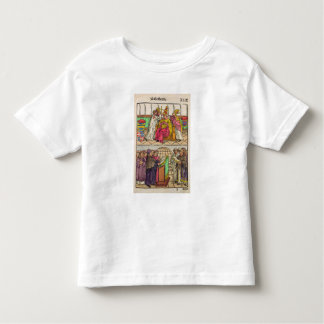 Pope Martin V is installed to the Papacy Toddler T-Shirt